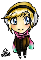 Winter Tasah Chibi by ShadesSagacious