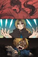 FMA: Doujinshi's best parts by c0ralus