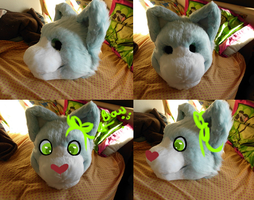 WIP kitty suit by Spaggled