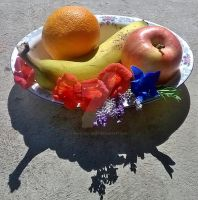 Original Picture of Fruit Bowl by InvaderEvi