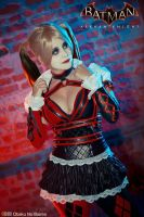 Harley Quinn - Batman Arkham Knight by AnaSBertola