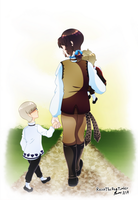 aph: walk by Rose-McSugar