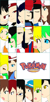 PokeSpe Characters by UnovaVampire