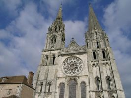 The Cathederal At Chartres by j-dub