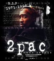2PAC by BKNYT17