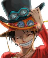 Monkey D Luffy XP by Naruke24