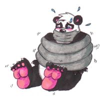 Reuben the Panda: Taped Up Trouble by KnightRayjack