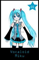 Vocaloid Miku by Spiritless19