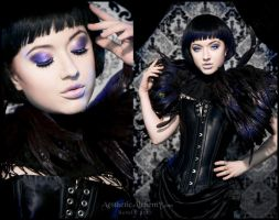 Little Black Angel by silvergrey