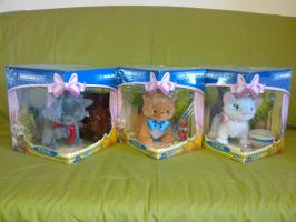 Aristocats interactive plush toys by Frieda15