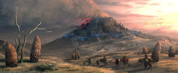 Red Mountain by AlexeyRudikov