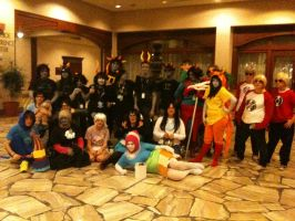 Homestuck at MechaCon by TomiChara