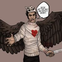 Angel Zacharie by Cranity