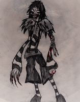 My Version Of Laughing Jack by psycholiger13