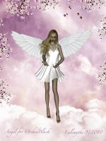Angel for OrchidBlack by FaerieDanse