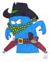 Bloo the Bandit by EmperorNortonII