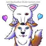 Apollo The Malsky's Valentine Base Tag by Jayfeather-16