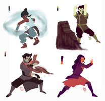 Team Avatar by drinked-ale