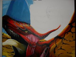 Avatar Painting WIP part 2 by xric