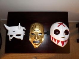 A few of the masks by Angelsrflamabl