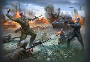battle of stalingrad by anandafauza