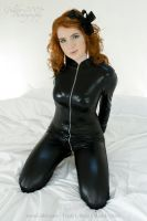 Onxy Catsuit 03 by GuldorPhotography