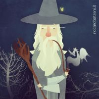 Gandalf the Grey by Rik81