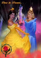 D2DW5 010 - Belle and Aurora by bellesprince