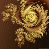 Old Roses by FireLilyFractals