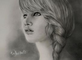 Jennifer Lawrence - Katniss Everdeen by Michelle-Winer
