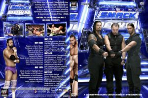 WWE SmackDown May 2013 DVD Cover by Chirantha