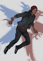 Delsin Rowe | inFAMOUS: Second Son by binals