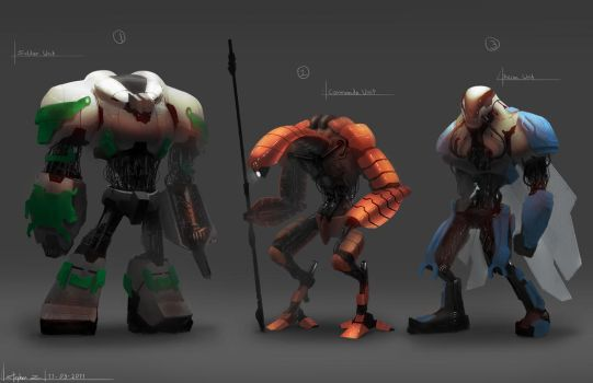 Automaton Concepts by Alpha-Step