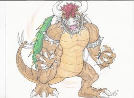 Request: Giga Bowser by RaptorBarry
