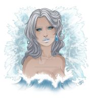 Mistress of Ice and Water by lolAirborne
