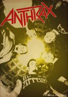 Band Poster: Anthrax by elcrazy