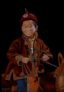 Tibetan boy by Julemus