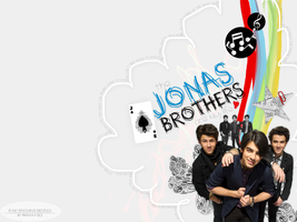Jonas Brothers Wallpaper by funkyfreshfab