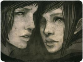 Twins by enmi