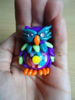 Purple Owl  - Competition Prize by Lucky101212