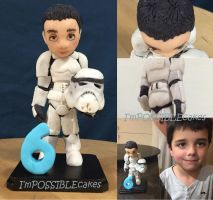 Stormtrooper Birthday Boy by IMpossiblecakeco