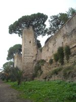 Rome stock medieval walls by photodash