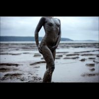 Mud statue by Adreena-uk