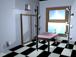 Unfinished Room by IciePhoenix