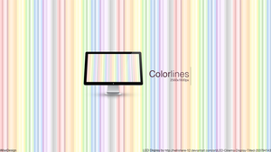 Desktop Wallpaper: Colorlines by LiamWise
