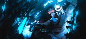 Ao No Exorcist Tag by GreenMotion