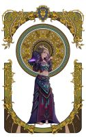 wow fan art page 2-5 by Angju