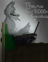 10,000+ pageviews by walter-the-furry