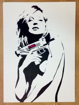 FAKE KATE small by fakestencils
