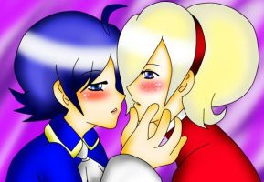 close to you... Ash and Elisabeth by x-Sneering-Blaze-x